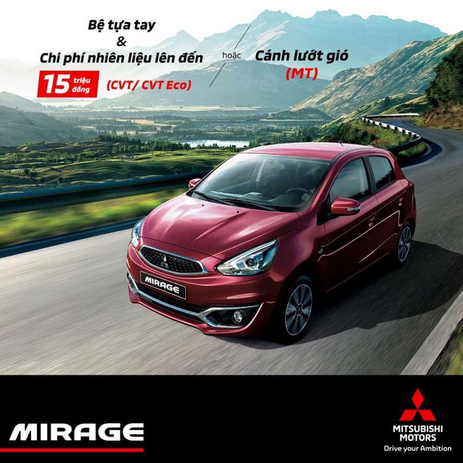 Khuyến mãi Mitsubishi Mirage