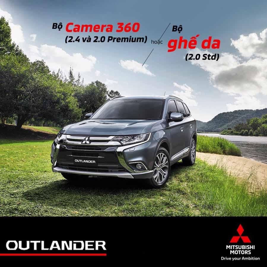Khuyến mãi Mitsubishi Outlander