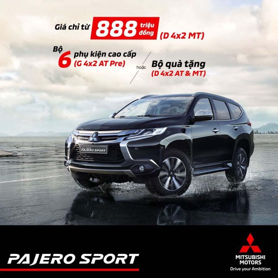 Khuyến mãi Mitsubishi Pajero Sport