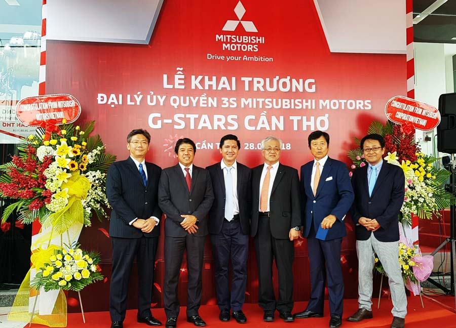 Lễ Khai trương Đại lý ủy quyền 3S Mitsubishi Motors G-Stars Cần Thơ