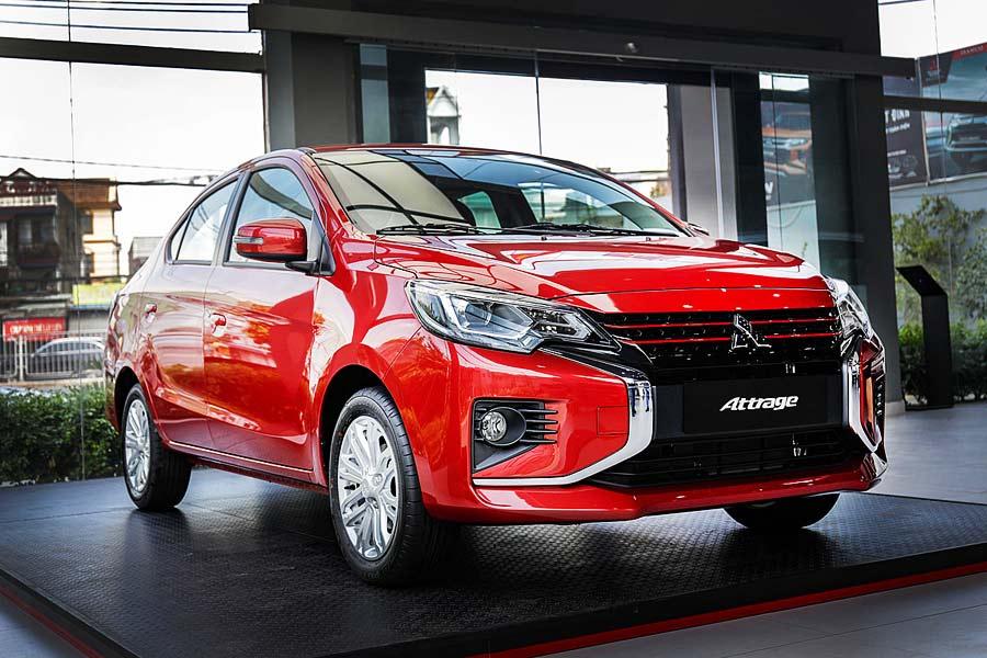 Mitsubishi Attrage Cần Thơ: Giá ưu đãi #1 Mới