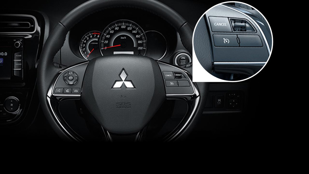 Mitsubishi Attrage Nội Thất 4
