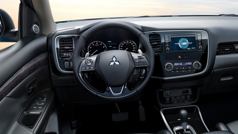 Mitsubishi Outlander Nội Thất 6