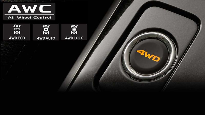 Hệ thống 4WD linh hoạt