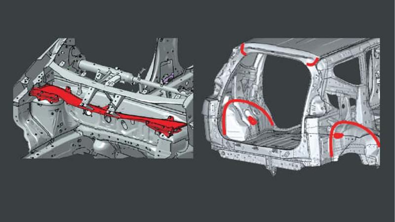 Khung xe cứng vững hơn