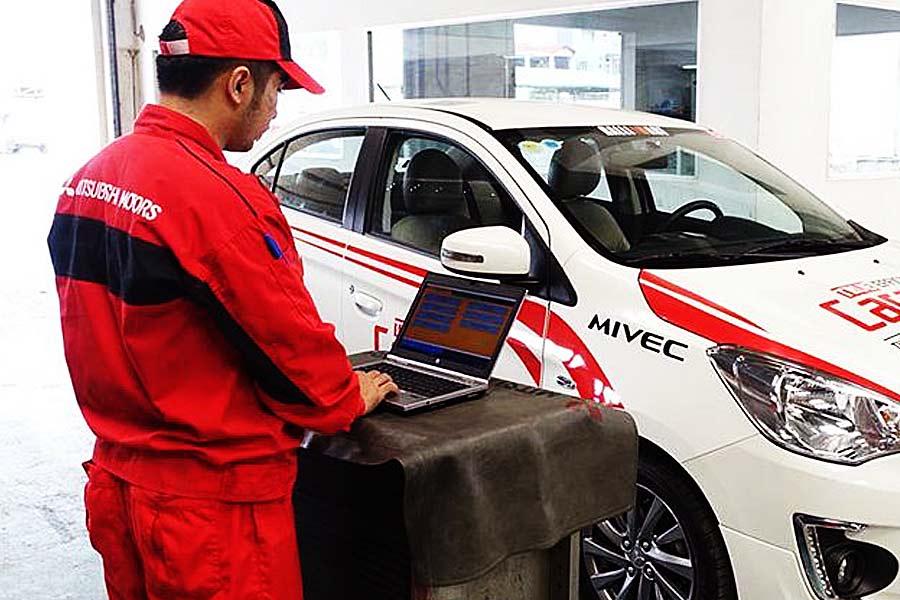 Bảo dưỡng xe định kỳ tại Mitsubishi Cần Thơ